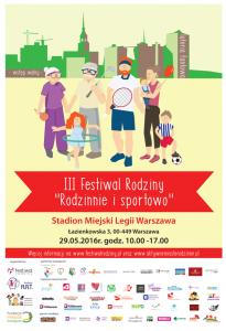 Festiwal Rodzinny plakat