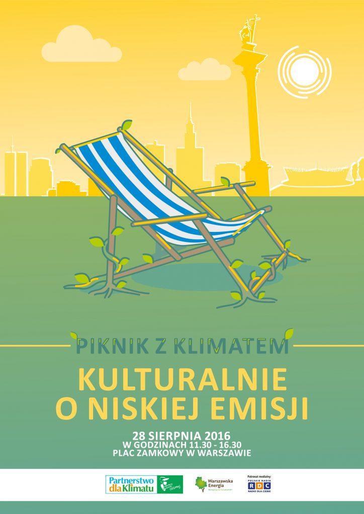 Piknik z Klimatem 2016 plakat