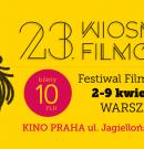 23. EDYCJA FESTIWALU FILMOWEGO WIOSNA FILMÓW